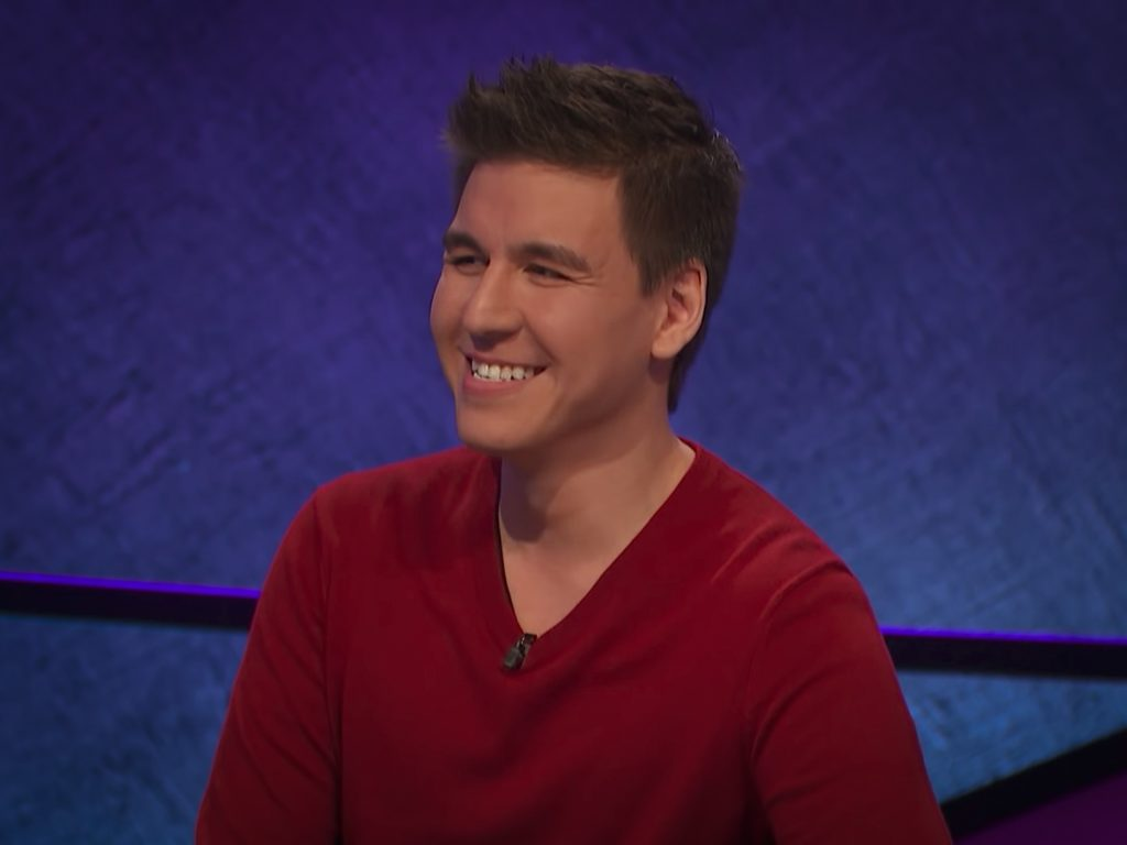 James Holzhauer. image: Sony Pictures Entertainment