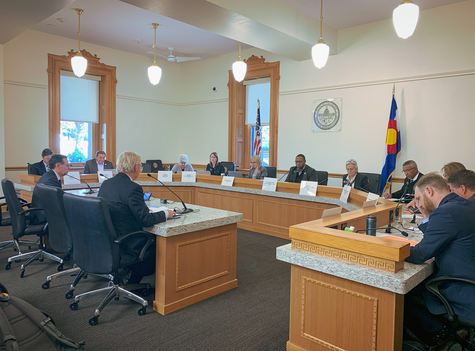 Presentation at the Colorado State Capitol