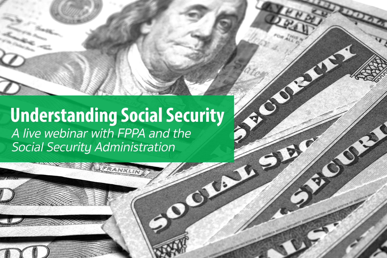 Social Security webinar header image