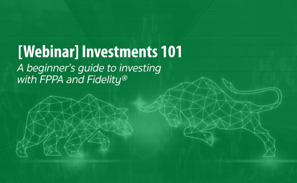 header image for investment basics webinar