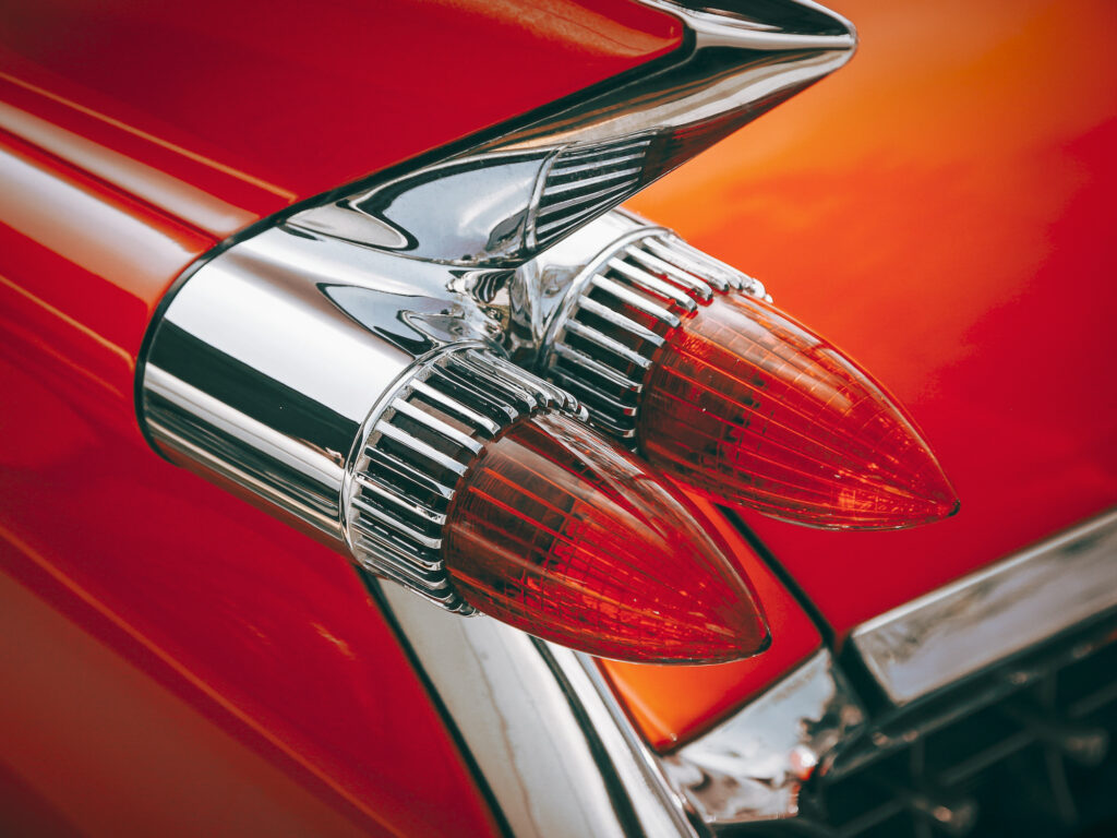 classic car tail lights